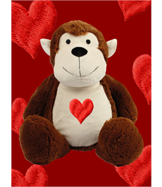 Personalised Plush Monkey