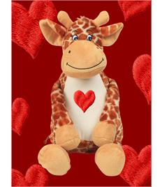 Personalised Plush Giraffe
