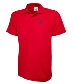 Ceders Red Polo PE