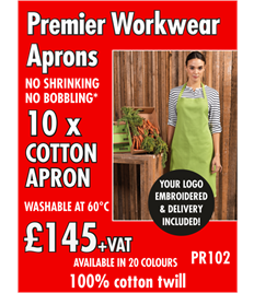 10x Workwear Aprons