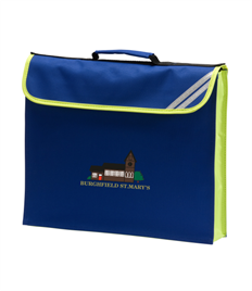 Burghfield St Marys School Book Bag