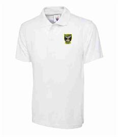 White School Polo - St. Michael's