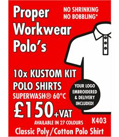 10x Polo Shirts