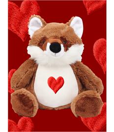 Personalised Plush Fox