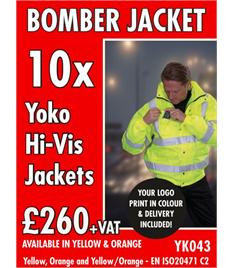 10x Hi-Vis Jackets