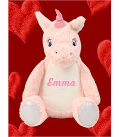 Personalised Plush Unicorn