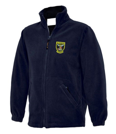 School Fleece with Crest