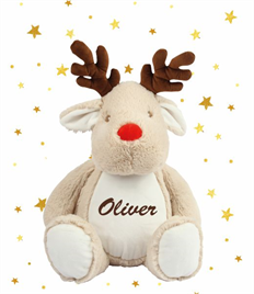 Personalised Plush Reindeer