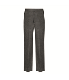 Cedars School Flat Front Trouser with elastic back