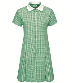 Cedars School Zip-Fronted Summer Dress