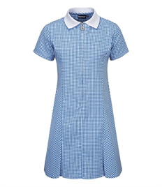 Garland Junior School Zip-Fronted Summer Dress